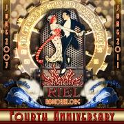 Radio Riel Anniversary poster